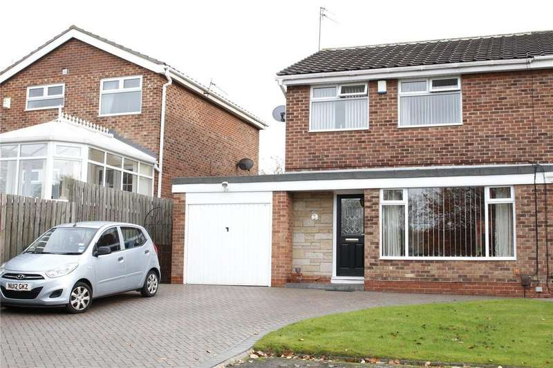 3 Bedrooms Semi Detached House for sale in Aster Close, Marton Manor