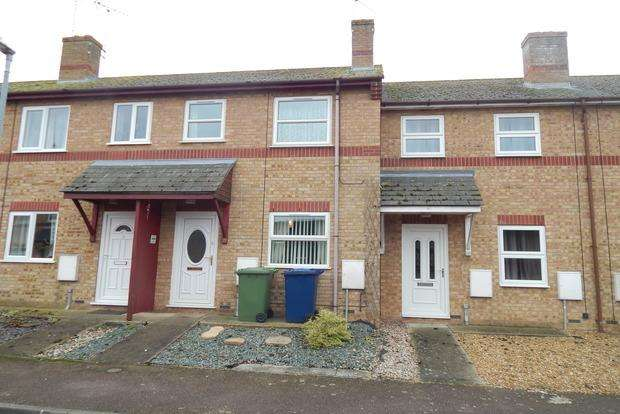 2 Bedrooms Terraced House for sale in Lindsells Walk, Chatteris, PE16