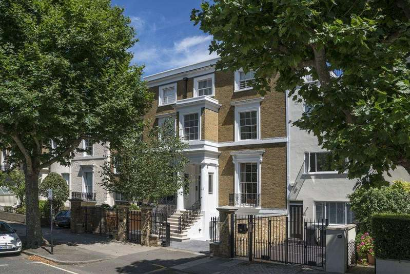 Terraced House for sale in Hamilton Terrace, St. John's Wood, London, NW8
