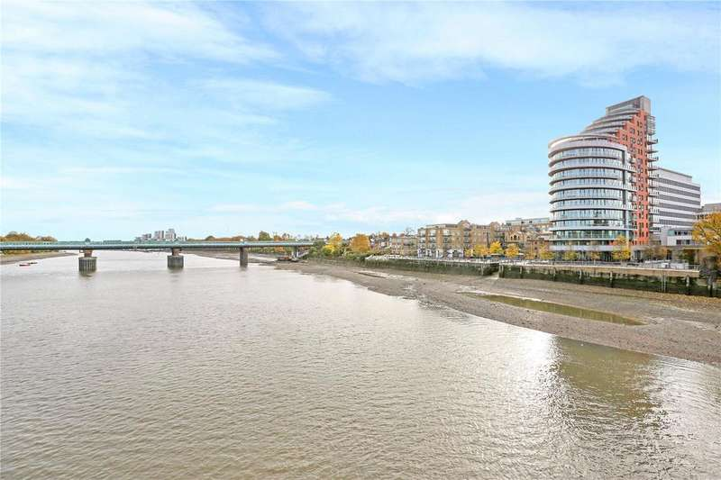 2 Bedrooms Flat for sale in Putney Wharf Tower, Brewhouse Lane, Putney, London, SW15