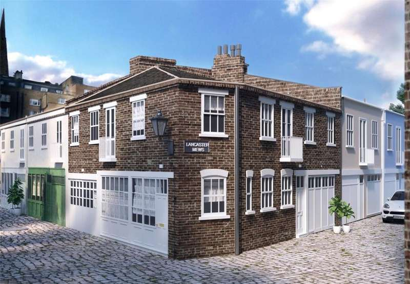 3 Bedrooms Mews House for sale in Lancaster Mews, London, W2