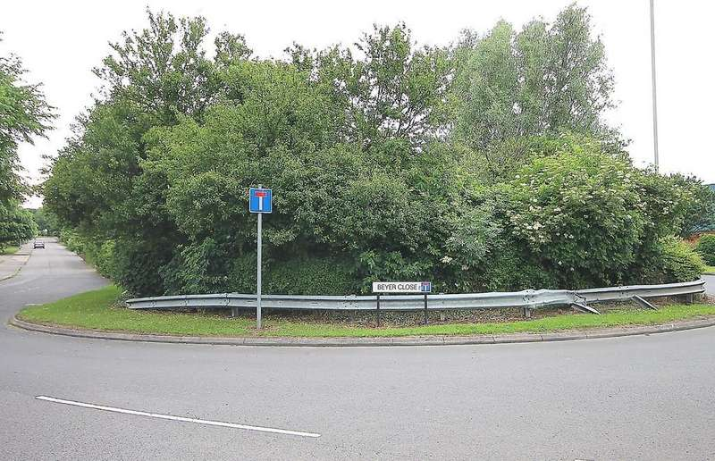 Land Commercial for sale in Land to the side of 4 Beyer Close, Tamworth, B77 2DP