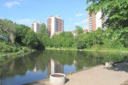 1 Bedroom Flat for sale in Lakeside Rise, Manchester, Greater Manchester