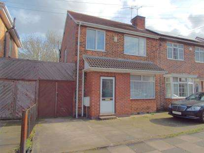 3 Bedrooms Semi Detached House for sale in Roseneath Avenue, Leicester, Leicestershire