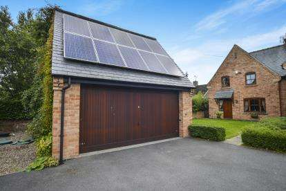 4 Bedrooms Semi Detached House for sale in The Old School, Huthwaite Lane, Blackwell, Alfreton