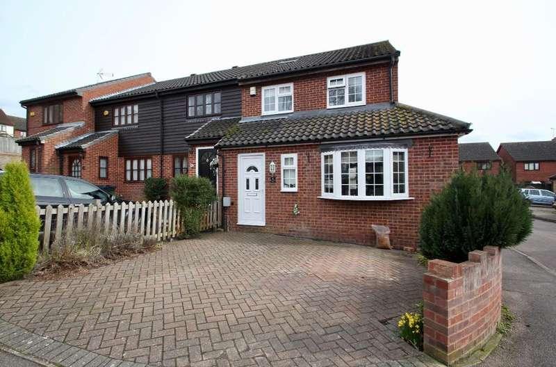 4 Bedrooms End Of Terrace House for sale in Gatesbury Way, Puckeridge, Ware, Herts, SG11 1TQ