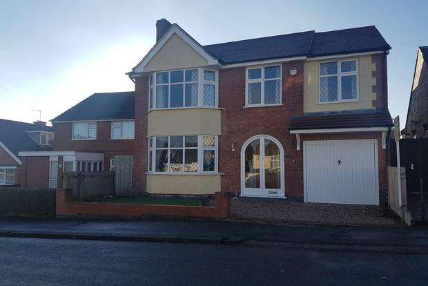 4 Bedrooms Detached House for sale in James Street, Anstey, Leicester, LE7