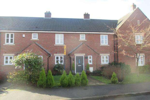 3 Bedrooms Town House for sale in Bernard Gadsby Close, Ashbourne, DE6