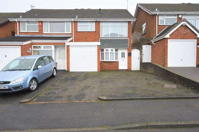 3 Bedrooms Semi Detached House for sale in Acorn Road, Halesowen