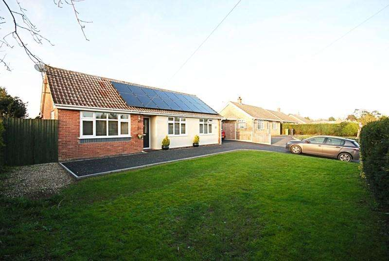 3 Bedrooms Detached Bungalow for sale in Hall Lane, Wacton, Norwich