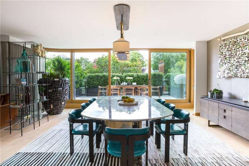 5 Bedrooms Flat for sale in Vicarage Gate House, Vicarage Gate, Kensington, London, W8