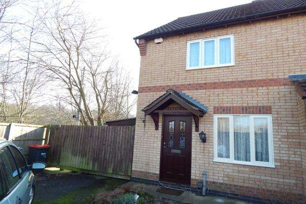 2 Bedrooms Semi Detached House for sale in Jenny Burton Way, Hucknall, Nottingham, NG15