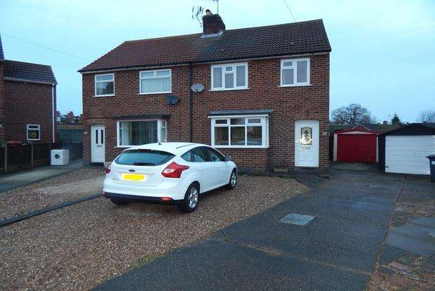 3 Bedrooms Semi Detached House for sale in Ellis Avenue, Hucknall, Nottingham, NG15