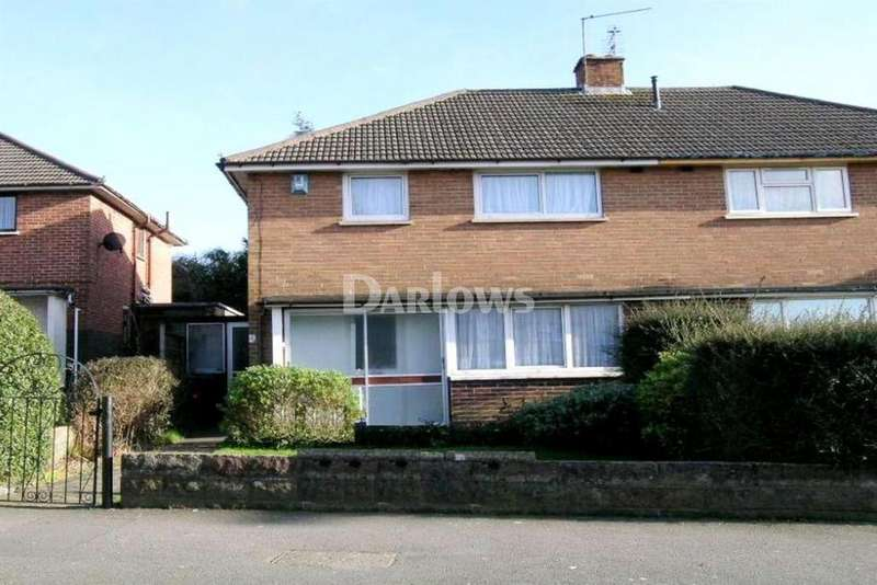 3 Bedrooms Semi Detached House for sale in Burnham Avenue, Llanrumney, Cardiff