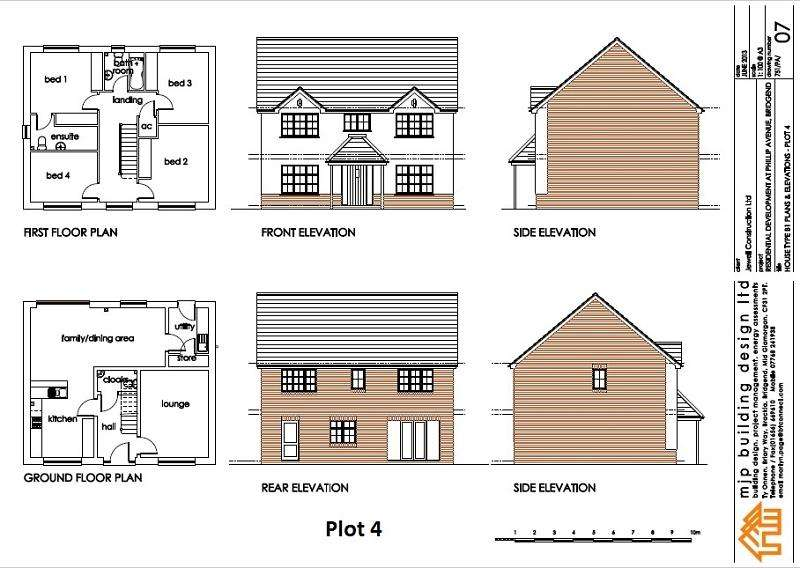 4 Bedrooms Detached House for sale in Leckwith Drive, Cefn Glas, Bridgend. CF31 4JH