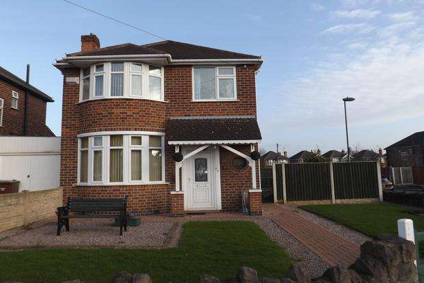 3 Bedrooms Detached House for sale in Trentham Drive, Aspley, Nottingham, NG8