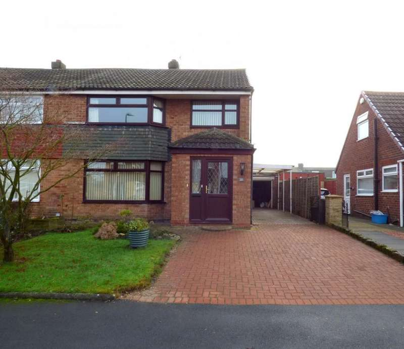 3 Bedrooms Semi Detached House for sale in Emsworth Drive, Eaglescliffe, Stockton-On-Tees, TS16
