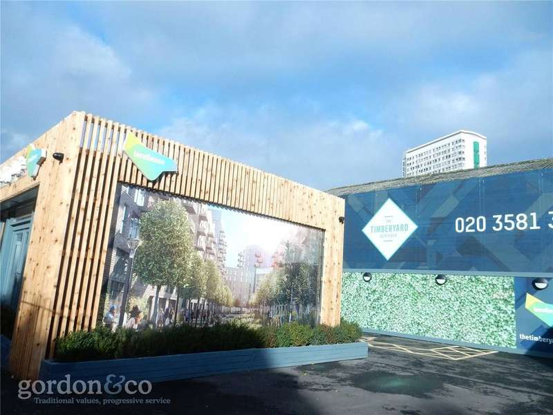 2 Bedrooms Flat for sale in Timberyard, Evelyn Street, London, SE8