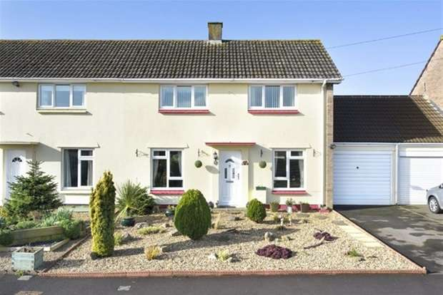 3 Bedrooms Semi Detached House for sale in Oakfield Close, Frome