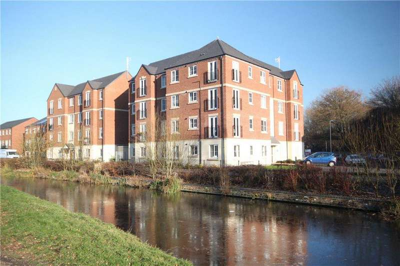 2 Bedrooms Apartment Flat for sale in Limekiln Court, Clensmore Street, Kidderminster, DY10