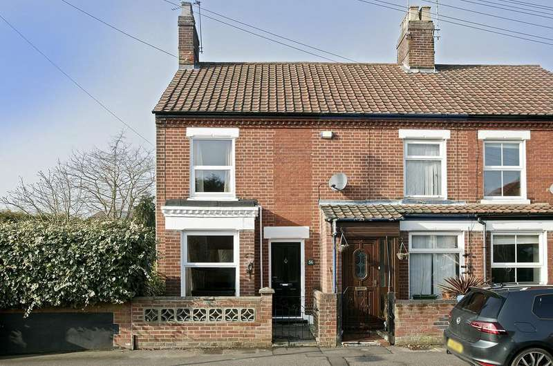 2 Bedrooms Terraced House for sale in Merton Road, Norwich