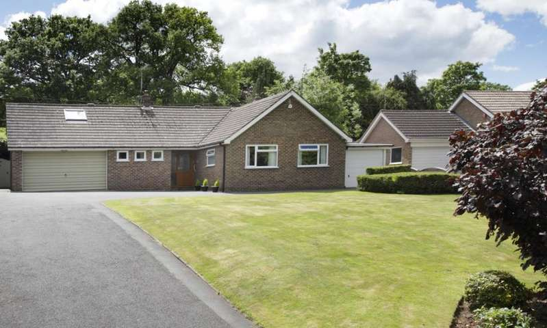 4 Bedrooms Detached Bungalow for sale in Leigh, Worcester, WR6