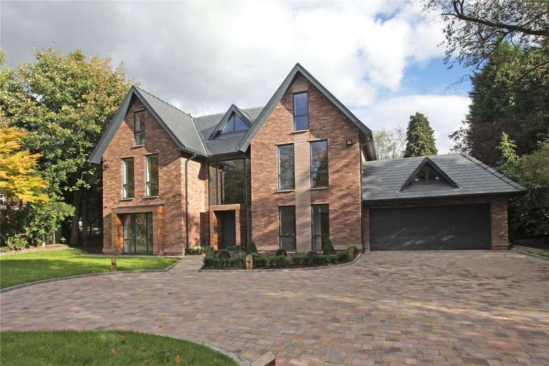5 Bedrooms Detached House for sale in Hill Top, Hale, Cheshire, WA15
