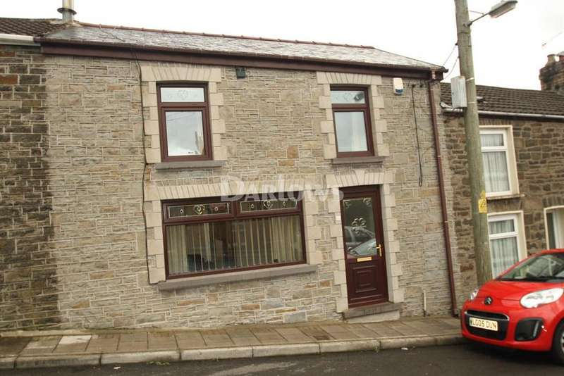 3 Bedrooms Terraced House for sale in Allen street, Caegarw