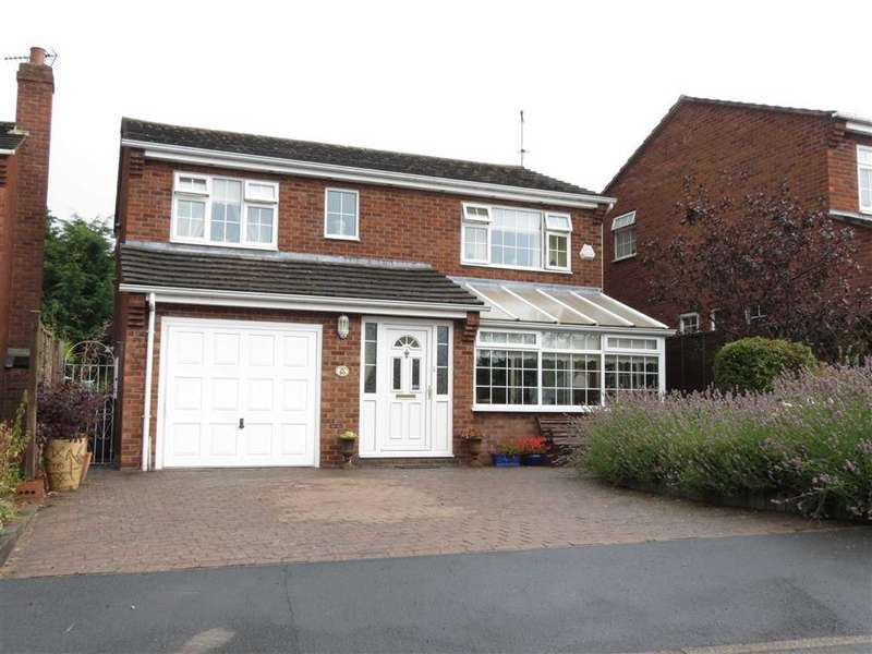 4 Bedrooms Detached House for sale in Hawthorn Road, Minsterley, Shrewsbury, Shropshire