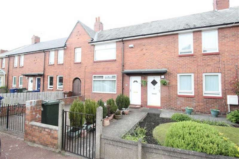2 Bedrooms Terraced House for sale in Holystone Crescent, Newcastle Upon Tyne, NE7