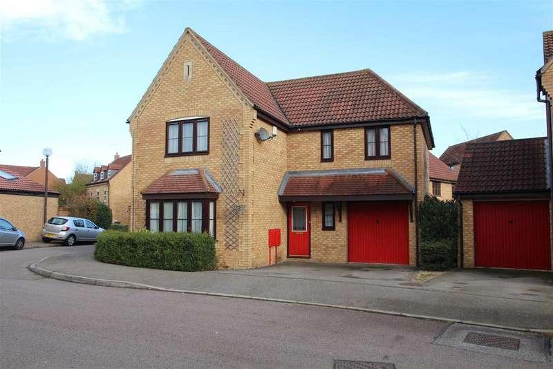 4 Bedrooms Detached House for sale in Abbeydore Grove, Monkston, Milton Keynes