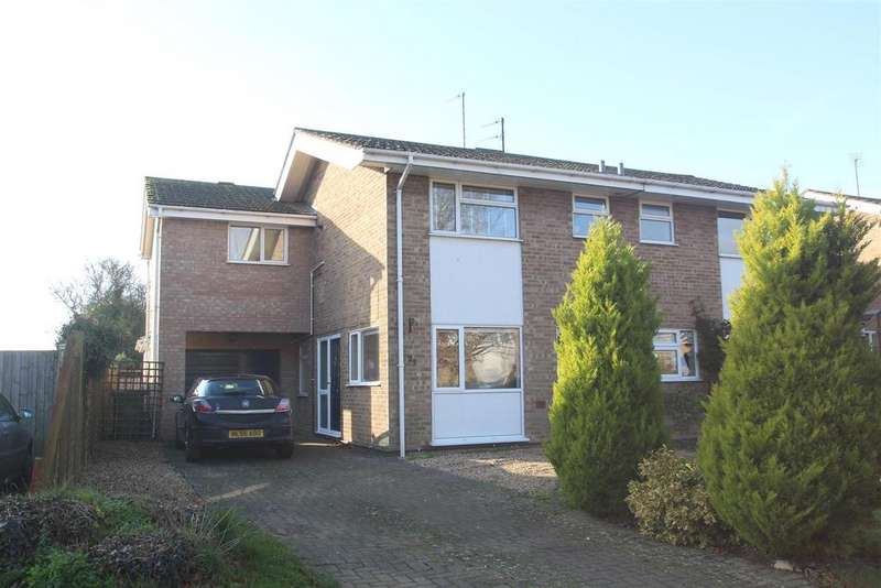3 Bedrooms Semi Detached House for sale in Hesketh Road, Yardley Gobion, Towcester