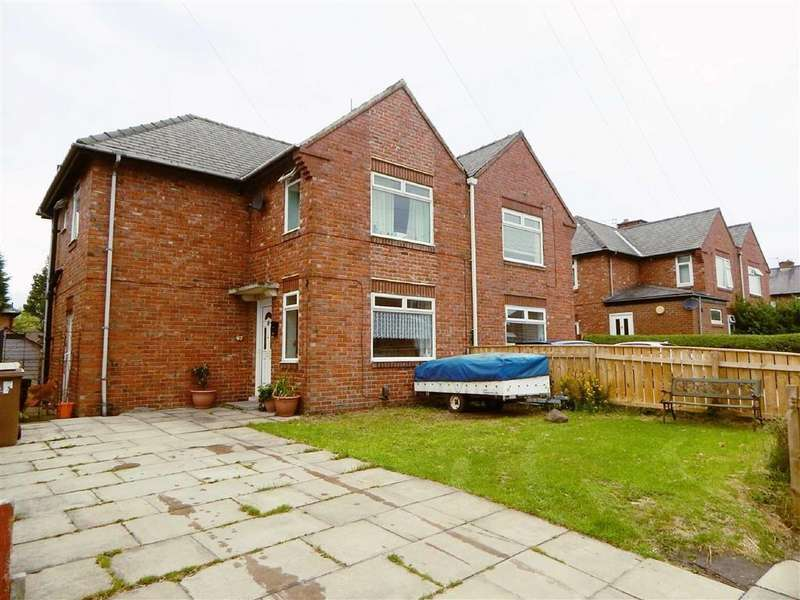 3 Bedrooms Semi Detached House for sale in Queens Crescent, Wallsend, Tyne Wear, NE28