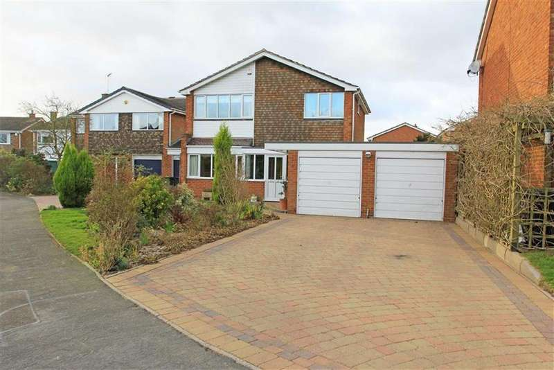 4 Bedrooms Detached House for sale in Firs Road, Houghton On The Hill, Leicestershire