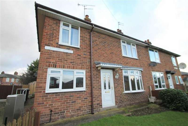 3 Bedrooms Semi Detached House for sale in Moorland Avenue, Wrexham