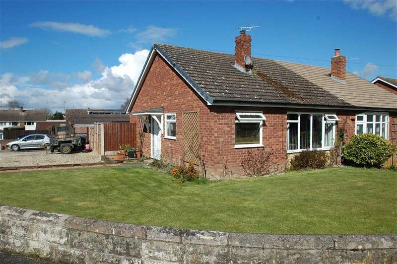2 Bedrooms Semi Detached Bungalow for sale in Harcourt Crescent, Belvidere, Shrewsbury