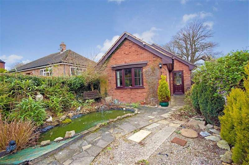 2 Bedrooms Detached Bungalow for sale in Pontesbury Hill Road, Pontesbury, Shrewsbury, Shropshire