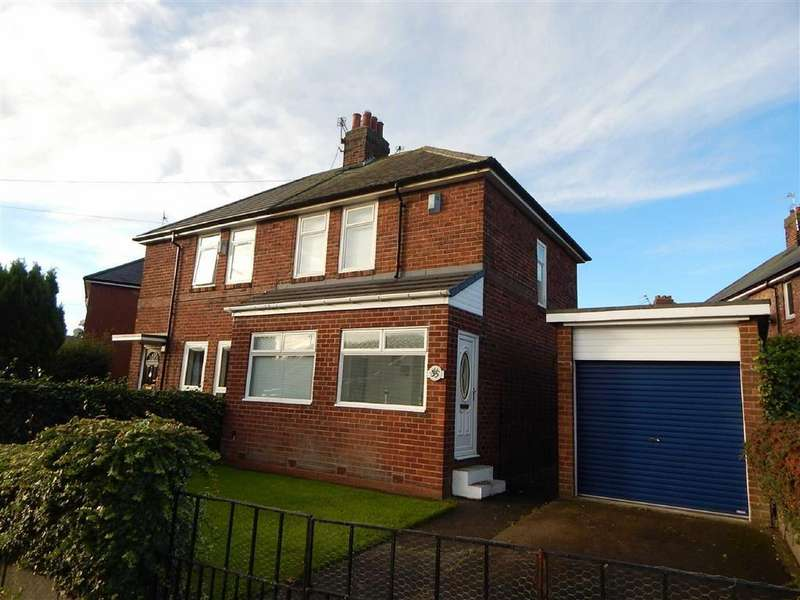 2 Bedrooms Semi Detached House for sale in Finchley Crescent, Walkergate, Newcastle Upon Tyne, NE6