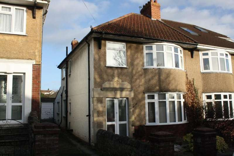 3 Bedrooms Semi Detached House for sale in Seabrook Road, Weston-super-Mare