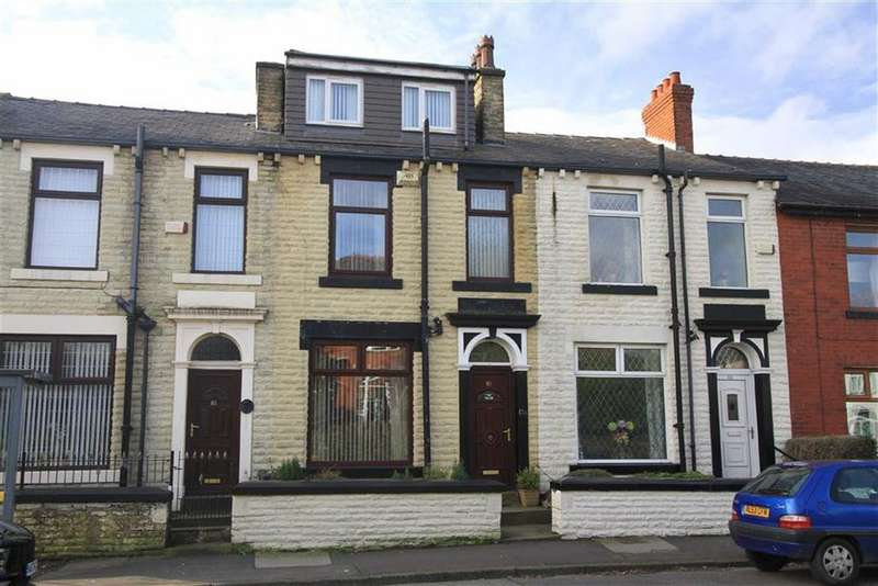 4 Bedrooms Terraced House for sale in 83, Rooley Moor Road, Meanwood, Rochdale, OL12