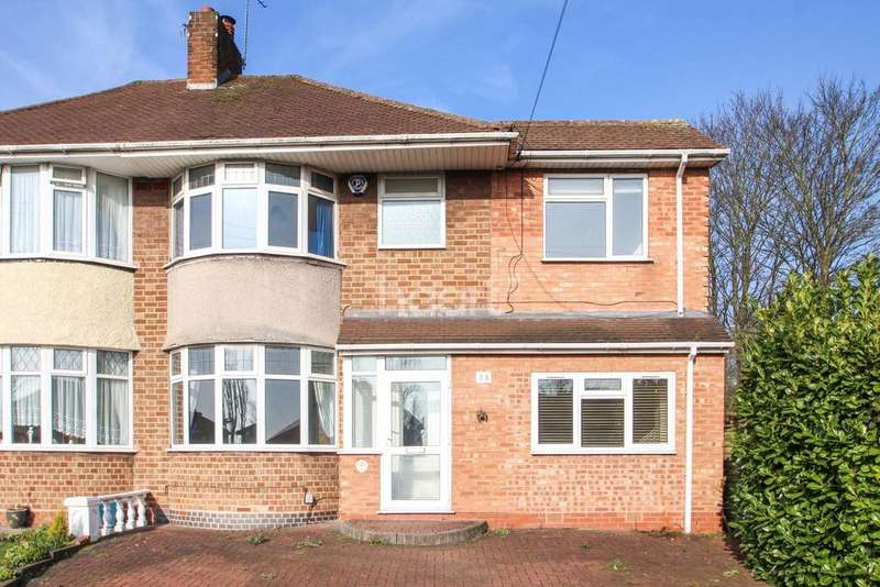 4 Bedrooms Semi Detached House for sale in Wagon Lane, Solihull