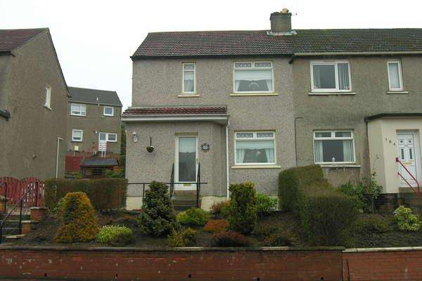 2 Bedrooms Semi-detached Villa House for sale in 186 North Dryburgh Road, Wishaw, ML2 7HQ