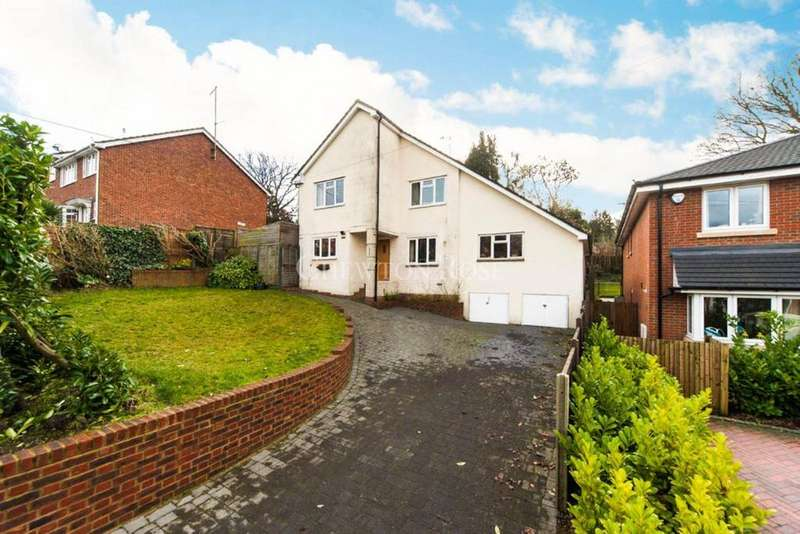 4 Bedrooms Detached House for sale in North Road, Chavey Down