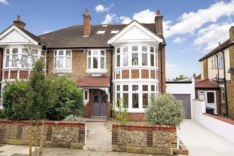 5 Bedrooms Semi Detached House for sale in Carbery Avenue, London, W3