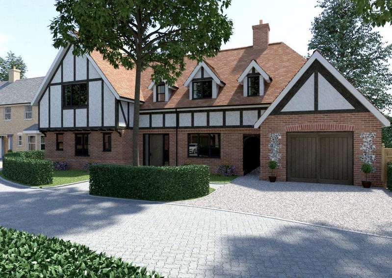 4 Bedrooms Detached House for sale in Walnut Close, Much Hadham, Herts, SG10