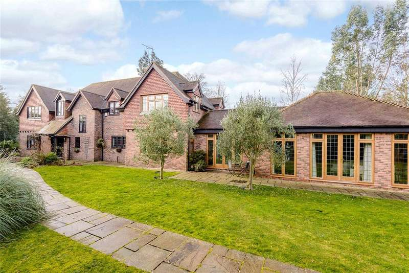 5 Bedrooms Detached House for sale in Winkfield Street, Maidens Green, Windsor, Berkshire