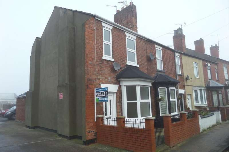 3 Bedrooms End Of Terrace House for sale in Etherington Street, Gainsborough