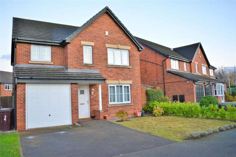 4 Bedrooms Detached House for sale in Lightoaks Drive, Halewood Village, Liverpool, L26