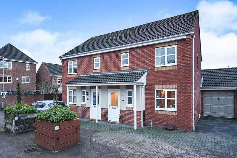 3 Bedrooms Semi Detached House for sale in Castilla Place, Burton-On-Trent, DE13