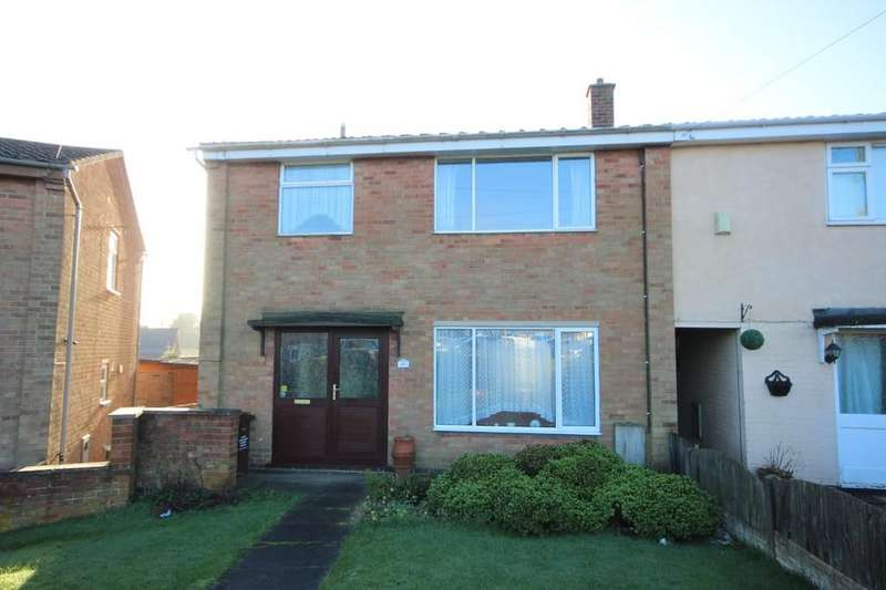 3 Bedrooms Semi Detached House for sale in Bailey Avenue, Overseal